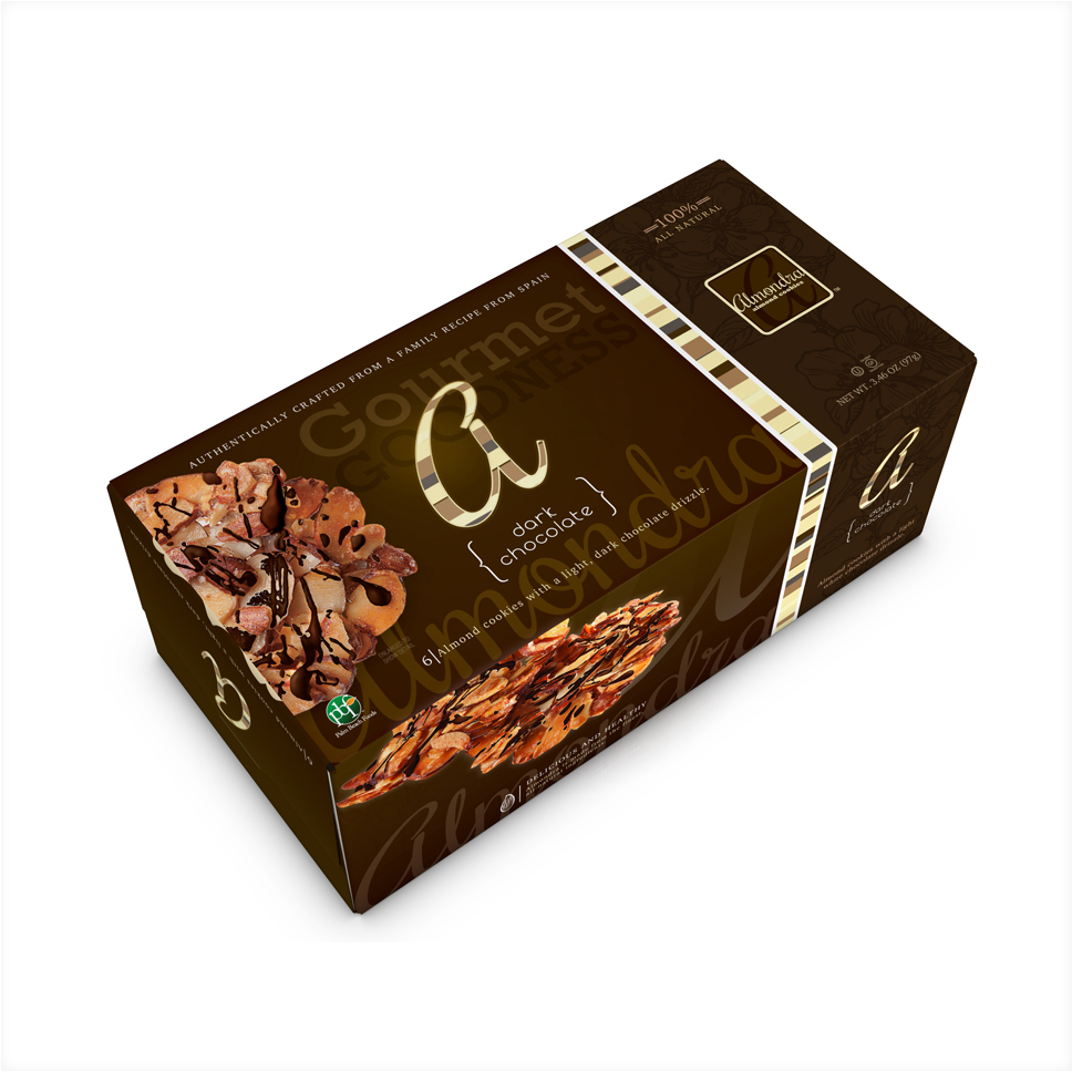 Almondra - Dark Chocolate 6 CT Box