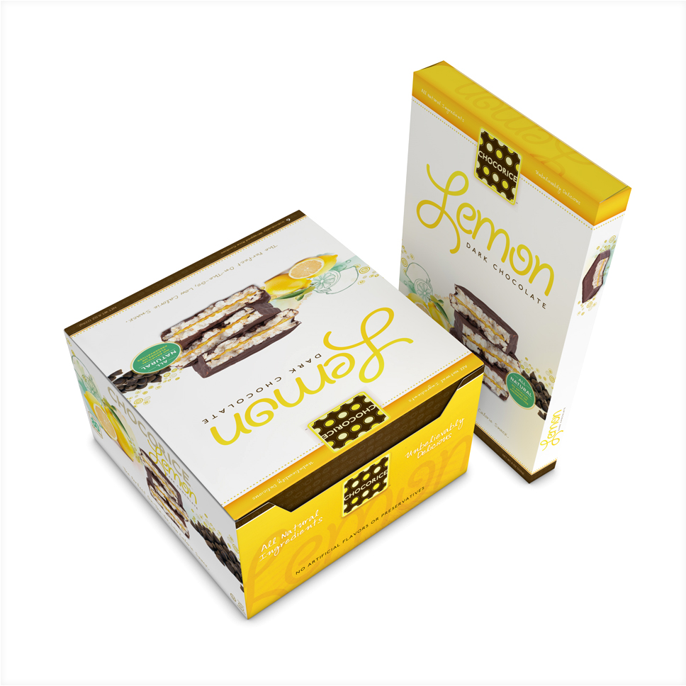 Chocorice - Lemon 12 and 6 CT Boxes