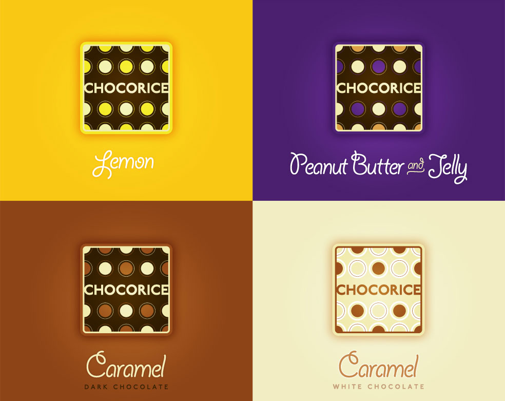 Chocorice - Flavors and Logos