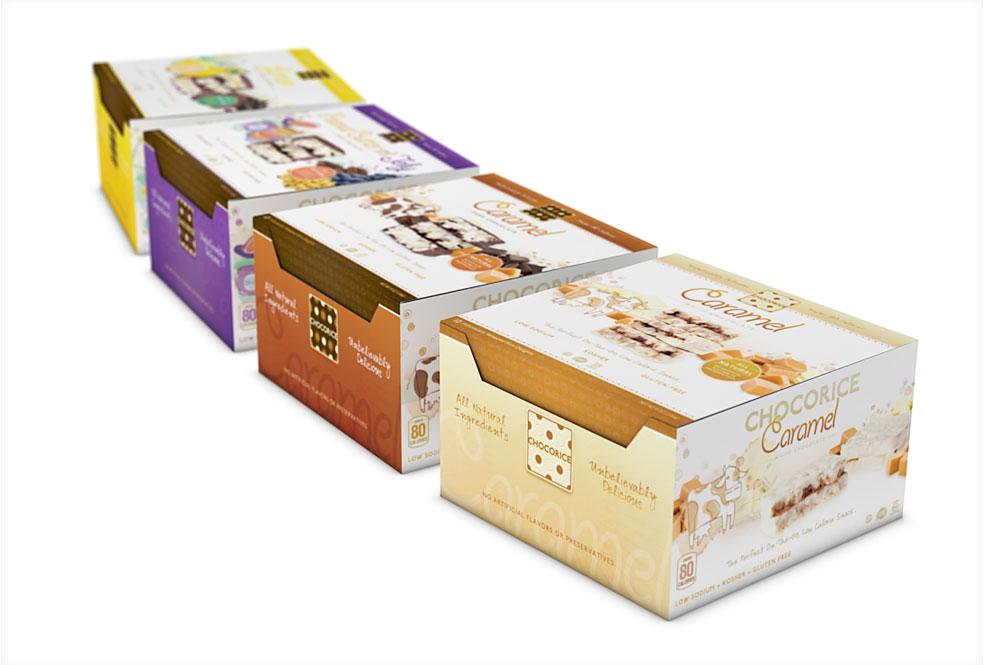Chocorice 12 CT Boxes