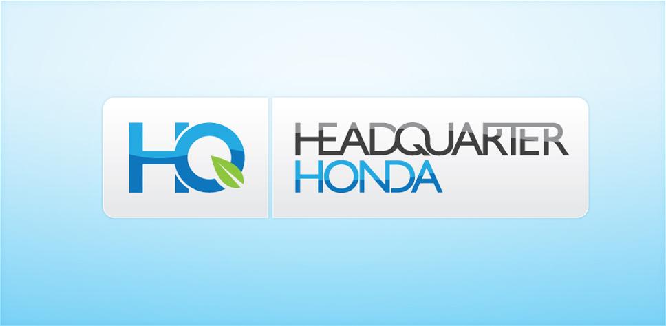 Headquarter Honda Logo Design