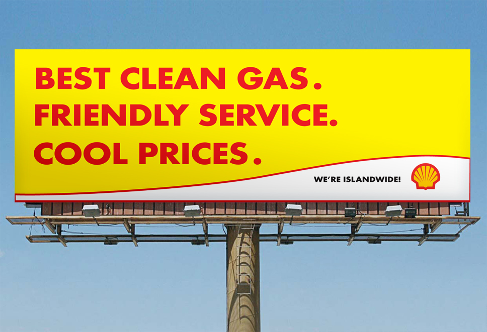 Shell Jamaica - Billboard Design