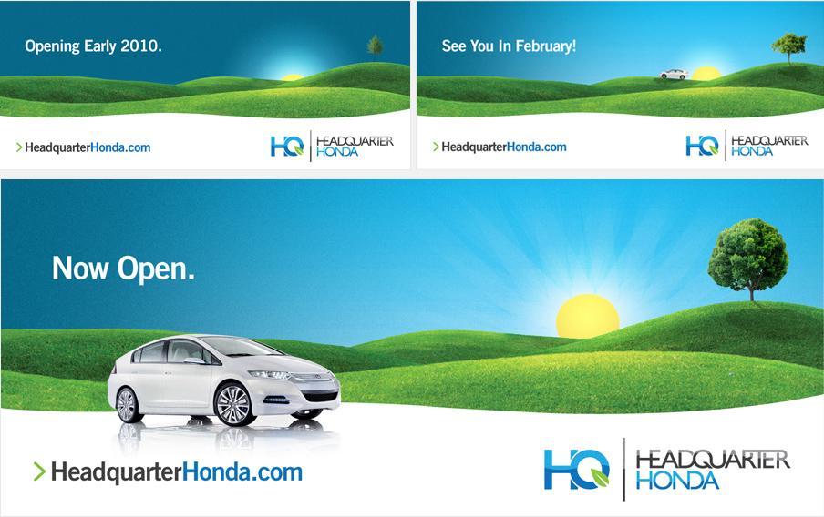 Headquarter Honda Billboard Campaign