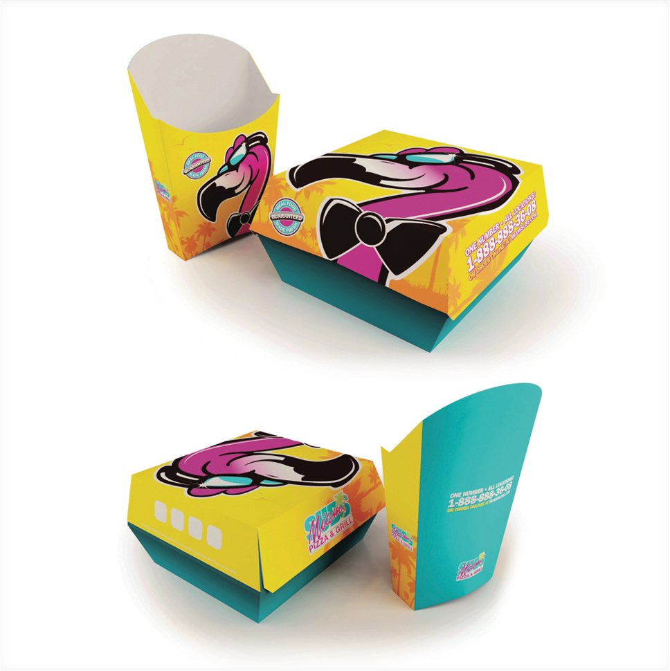 Miami Subs Packaging Design 1 - Detail