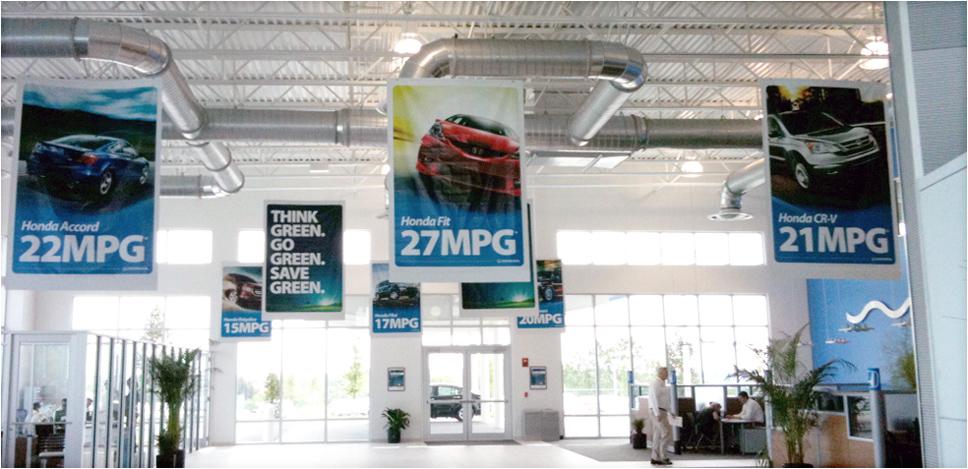 Headquarter Honda Showroom Banners