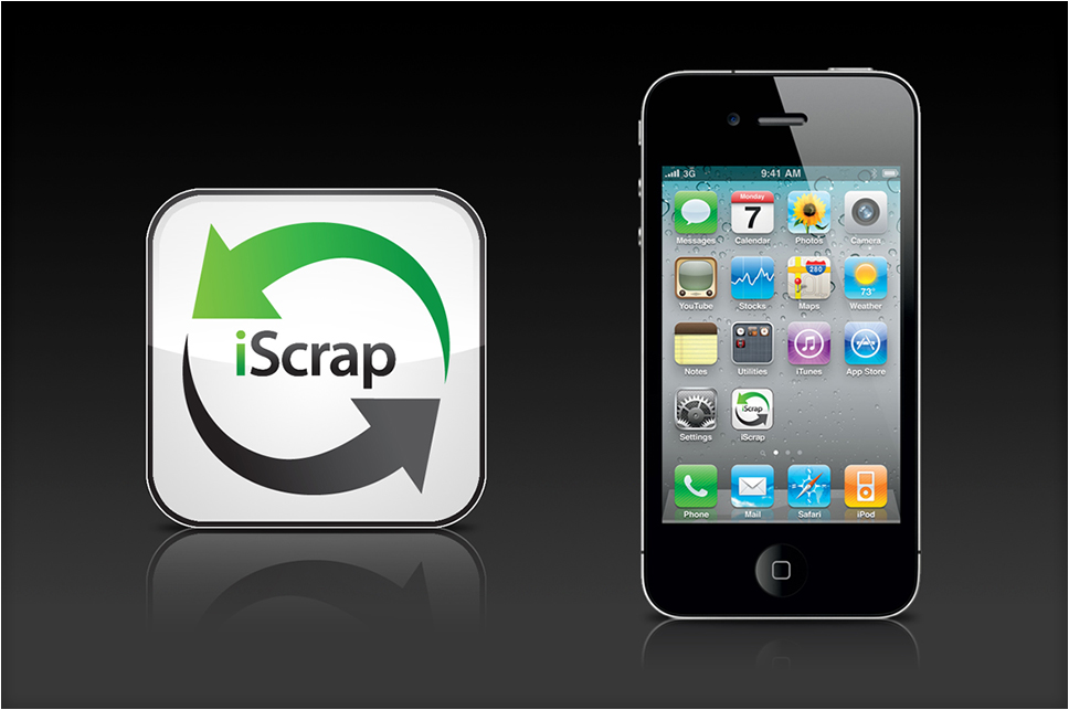 iScrap Mobile App Icon