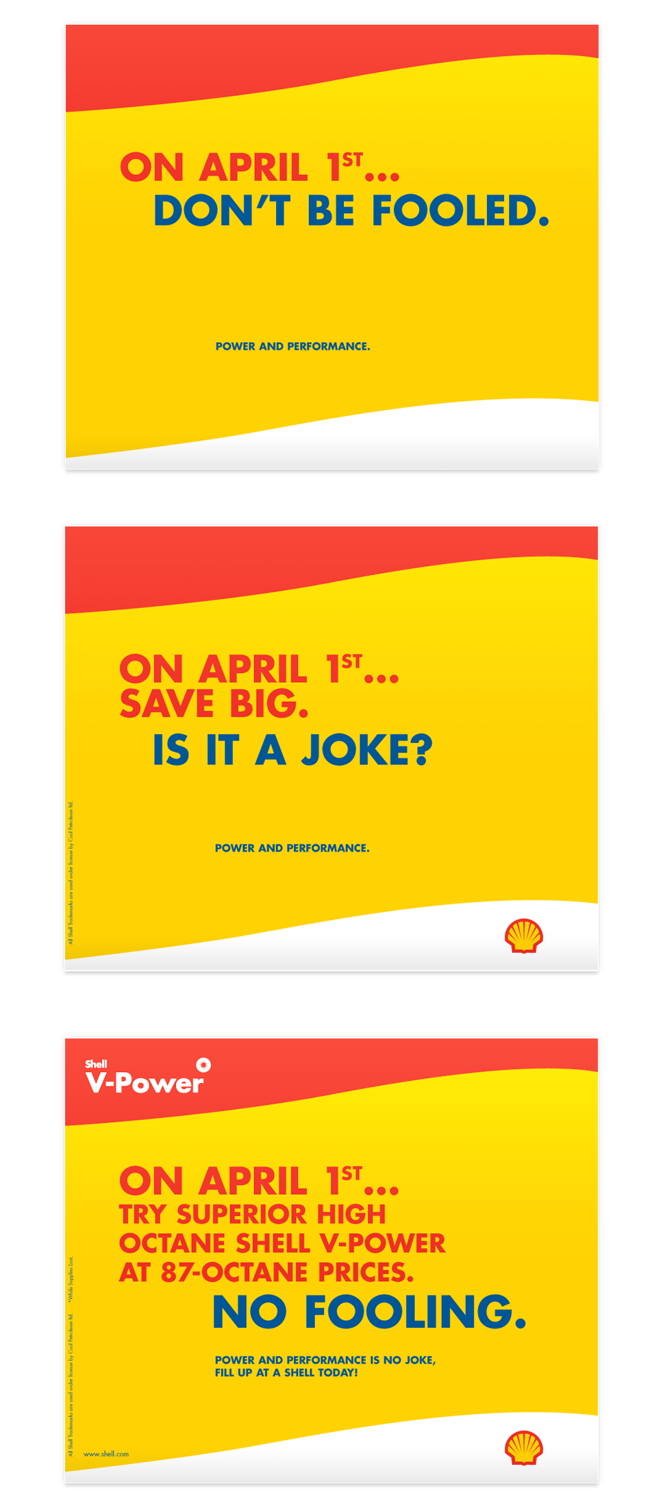 Shell Jamaica - V-Power April Fools Campaign