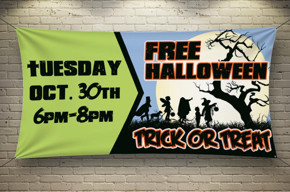 Promenade Halloween Banner