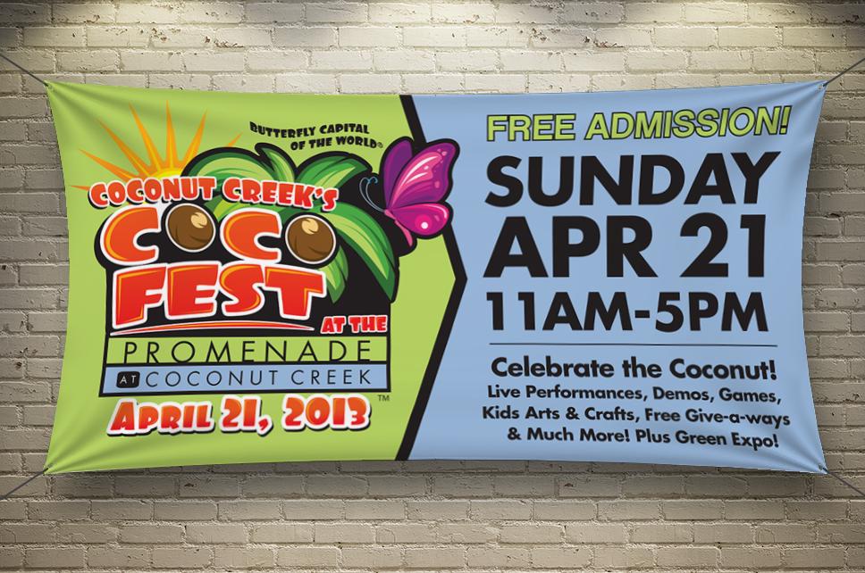 Promenade Cocofest Banner