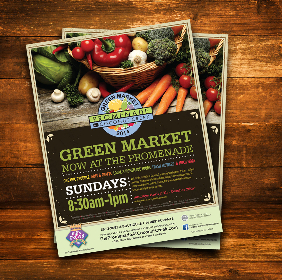 Green Market Flyer