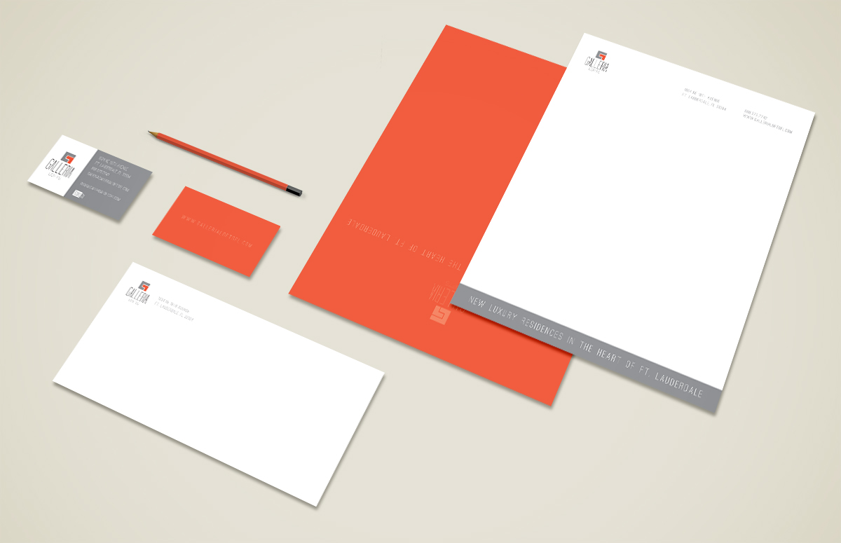 Galleria Lofts Stationery Package