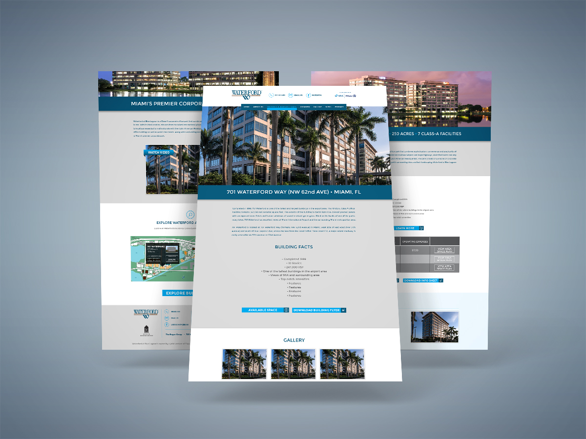 Website Redesign & Development (cont.)