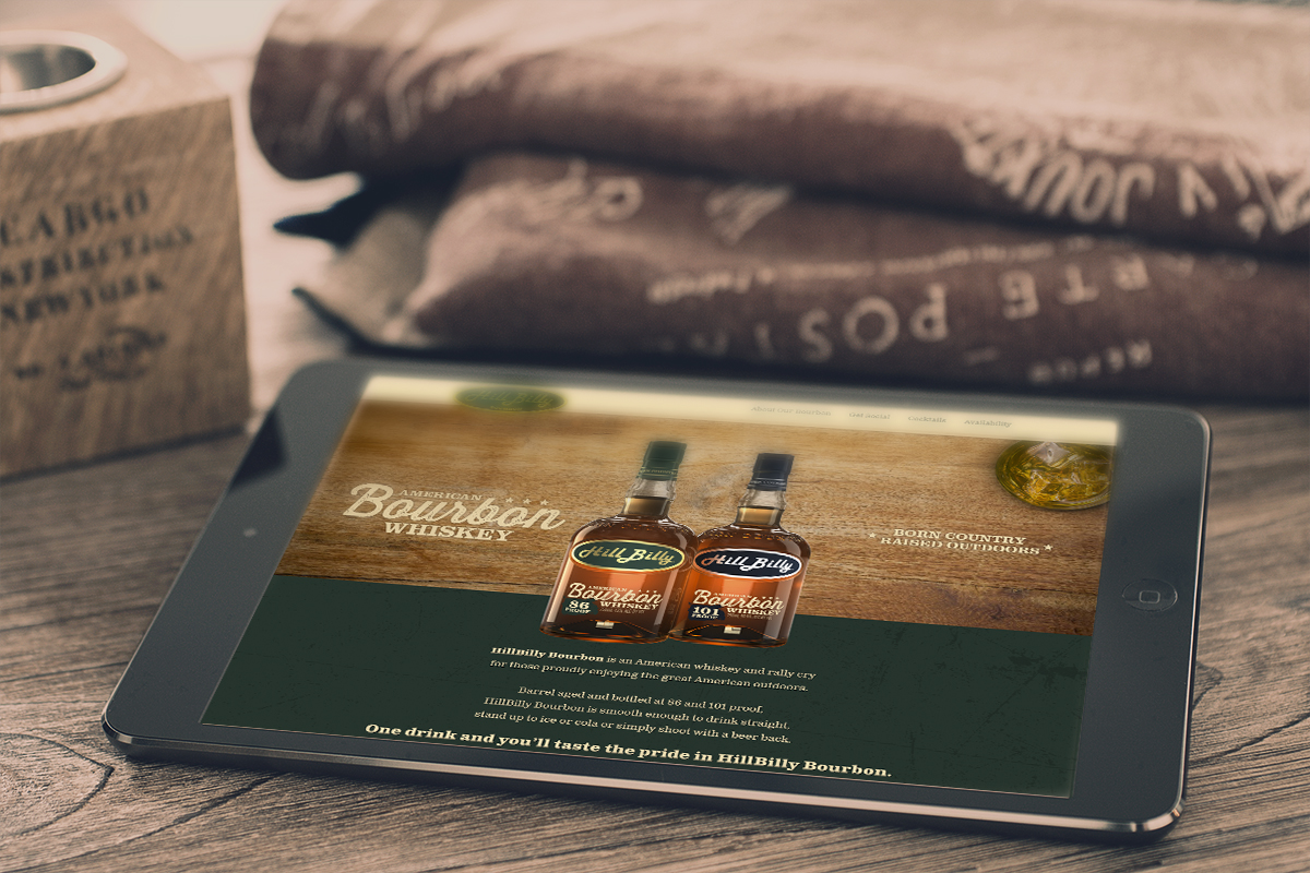 Hillbilly Bourbon Website Collaboration