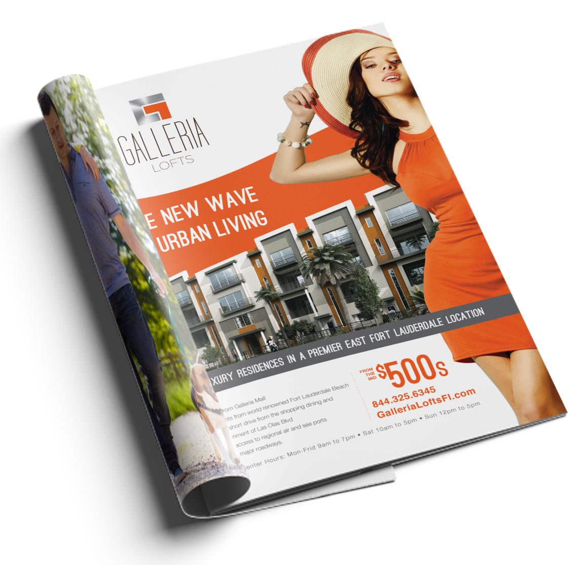 Print Ad Design & Media Strategy