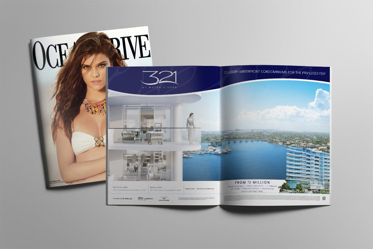 Print Ad Design & Comprehensive Media Strategy