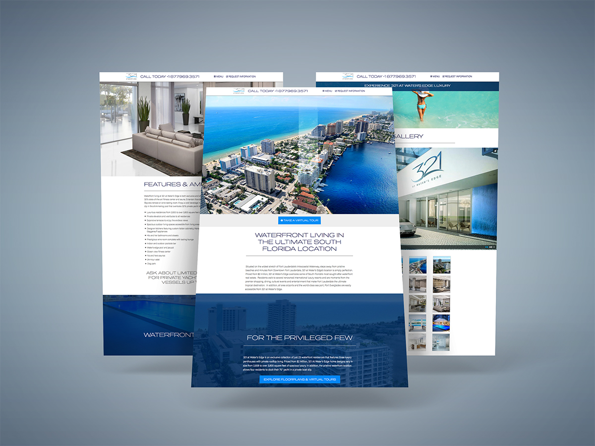 Website Design & Development (cont.)