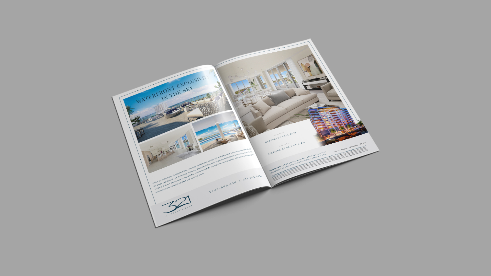 Double Page Spread Advertisement