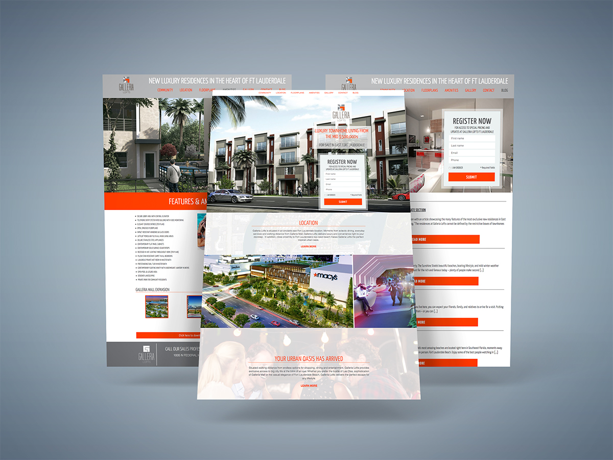 Community Website - Design & Development