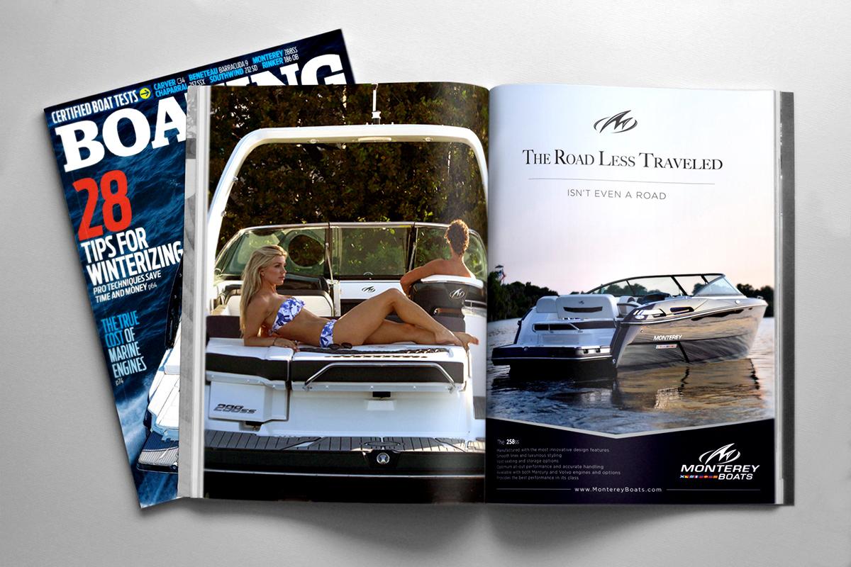 Boating Magazine Ad