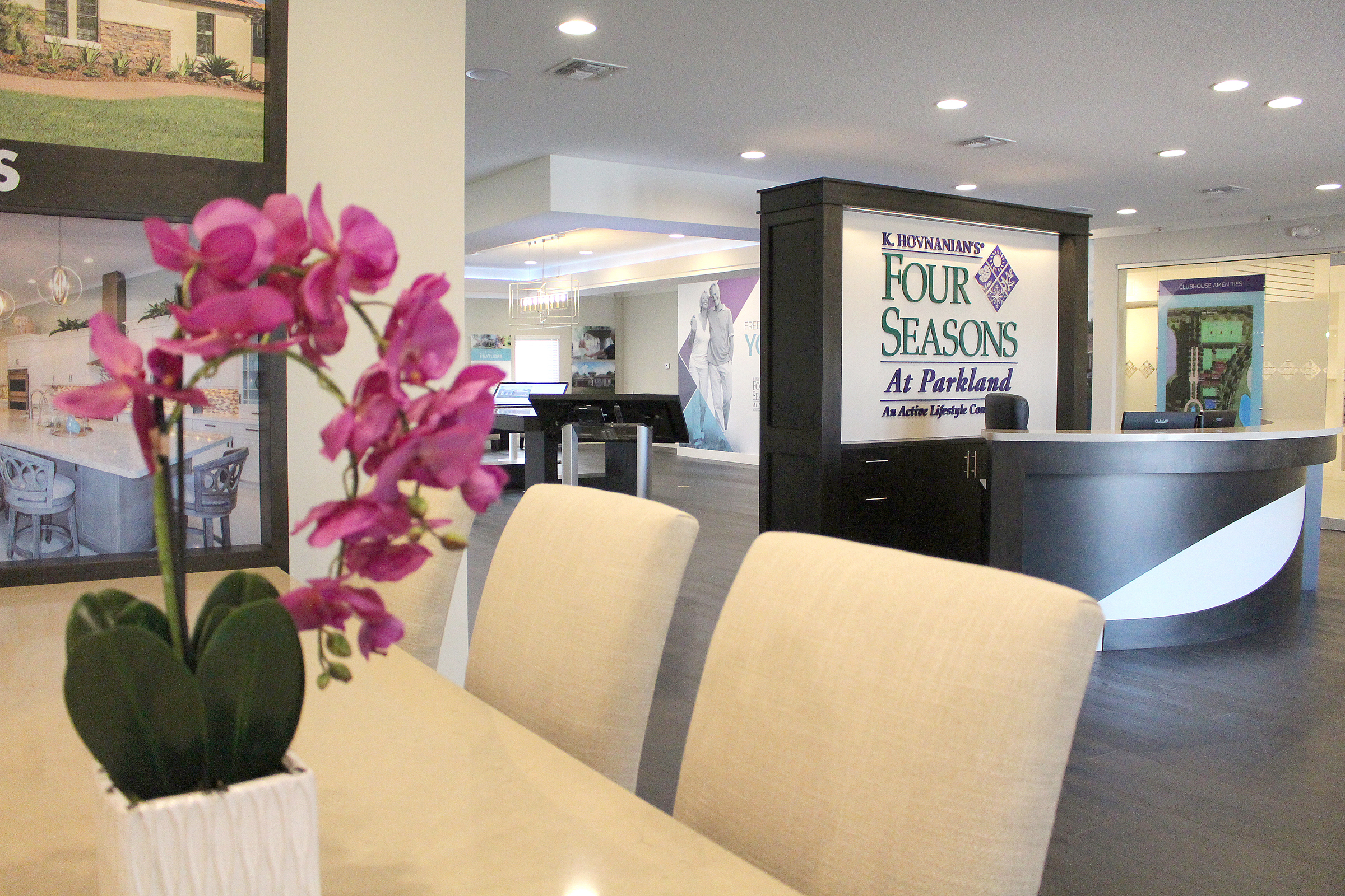 Four Seasons at Parkland - Sales Environment