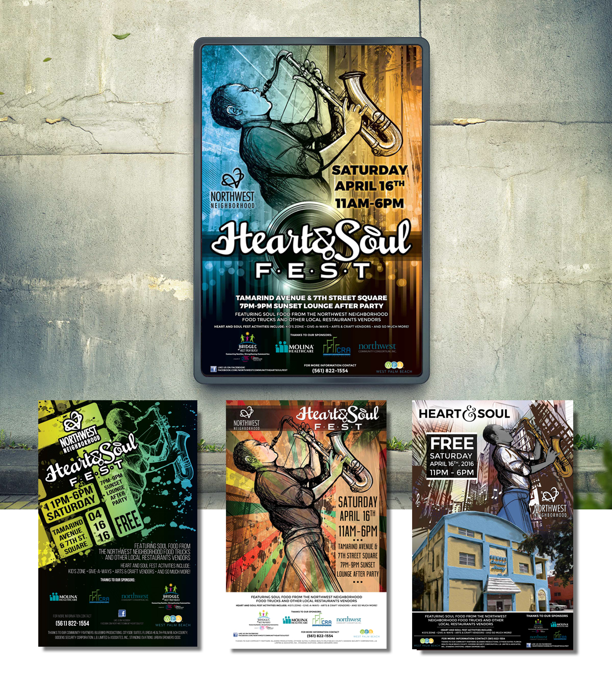 Heart & Soul Music Fest Branding