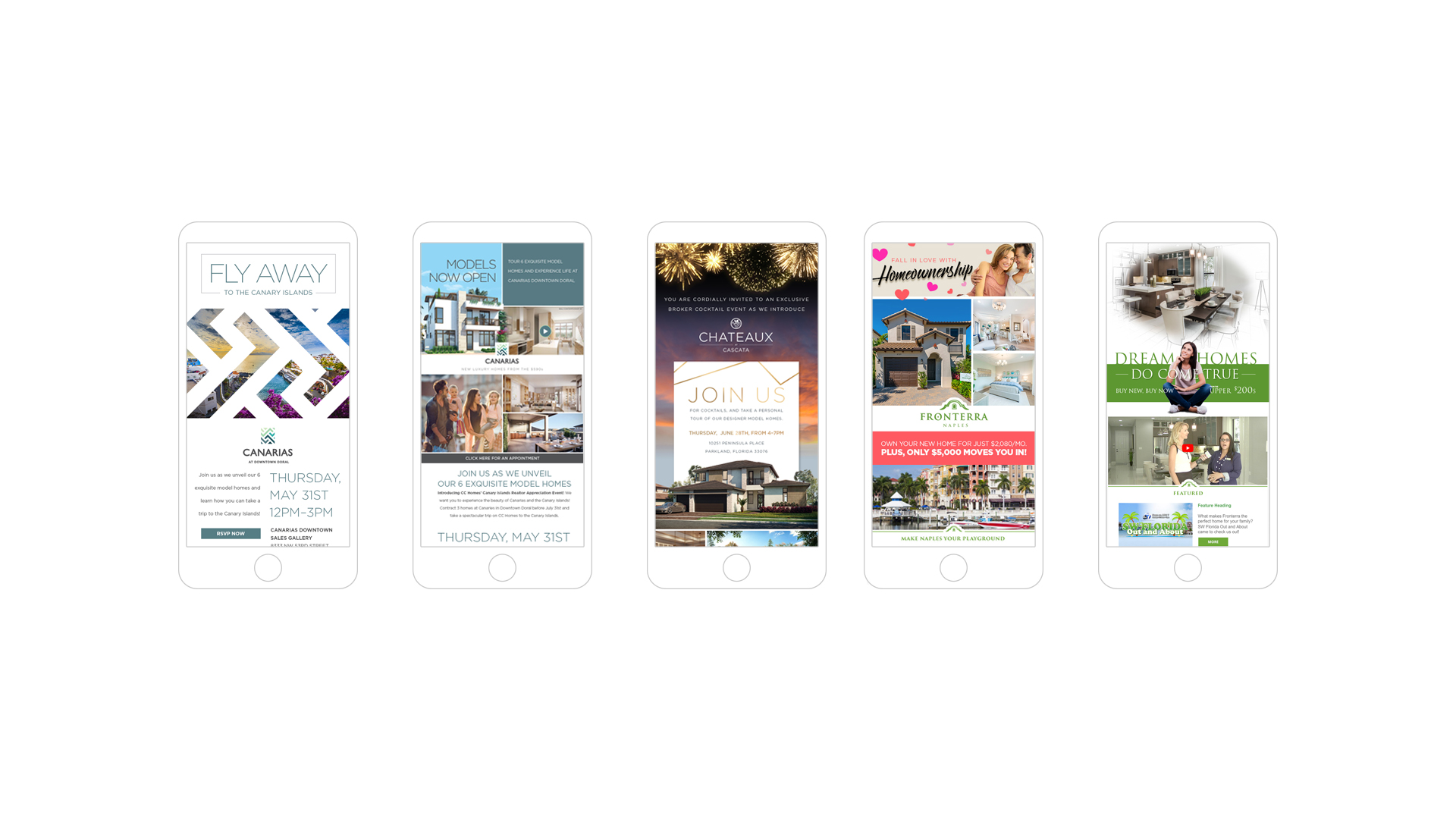 CC Homes Community Email Marketing