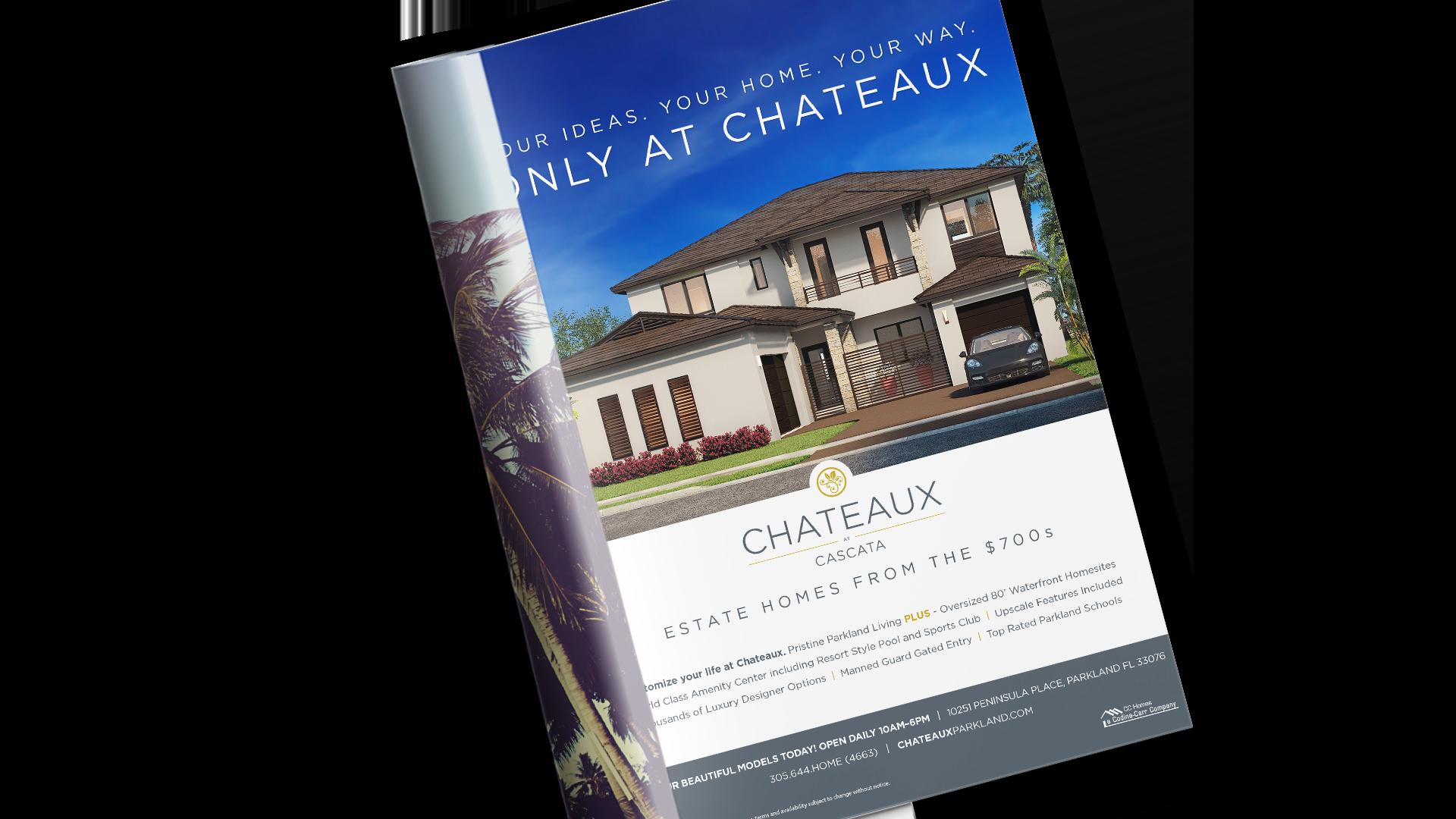 Chateaux at Parkland Magazine Advertisement